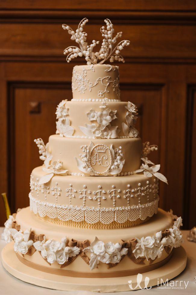 Как рассчитать размер свадебного торта?