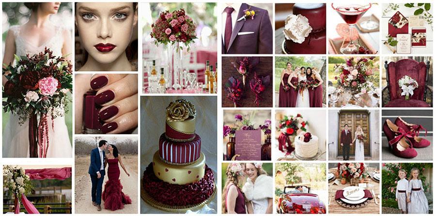 Модные цвета на свадьбу 2018