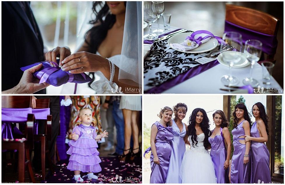 Из чего сделать цвет свадьбы