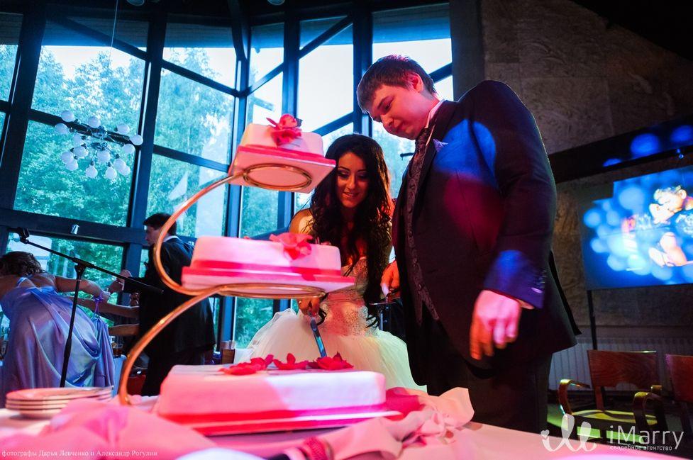 Состав свадебного торта