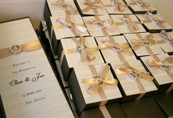 Оригинальные подарки на свадьбе для гостей #0